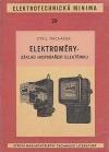 Elektroměry - základ hospodaření elektřinou