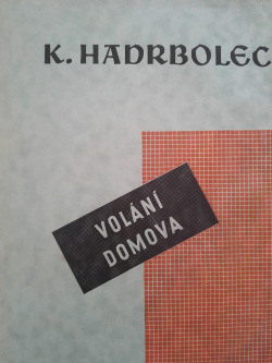 Volání domova obálka knihy