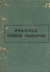 Pravidla českého pravopisu s abecedním seznamem slov a tvarů obálka knihy