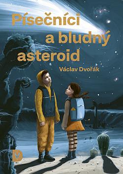 Písečníci a bludný asteroid obálka knihy