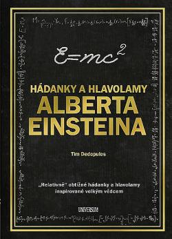 Hádanky a hlavolamy Alberta Einsteina obálka knihy