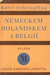 Německem, Holandskem a Belgií obálka knihy