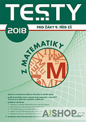 Testy 2018 pro žáky 9. tříd z matematiky obálka knihy