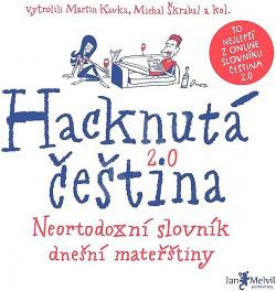 Hacknutá čeština obálka knihy