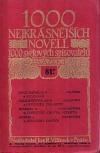 1000 nejkrásnějších novell 1000 světových spisovatelů sv. 81