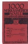 1000 nejkrásnějších novell 1000 světových spisovatelů sv. 35