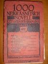 1000 nejkrásnějších novell 1000 světových spisovatelů sv. 41
