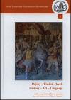 Dějiny, umění, jazyk / History, art, language