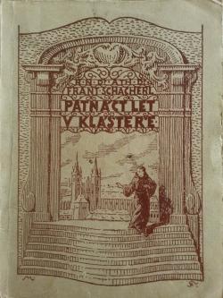 Patnáct let v klášteře obálka knihy