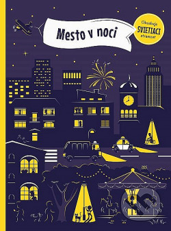 Město v noci obálka knihy