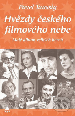 Hvězdy českého filmového nebe obálka knihy
