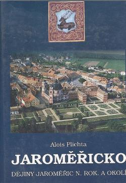 Jaroměřicko - Dějiny Jaroměřic n. Rok. a okolí obálka knihy