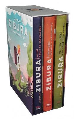 Sebrané pěškopisy (trojbox) obálka knihy