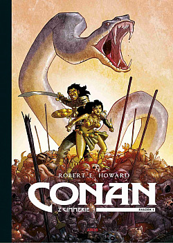 Conan z Cimmerie. Svazek I obálka knihy