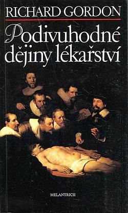 Podivuhodné dějiny lékařství obálka knihy