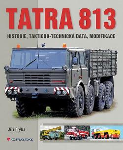 Tatra 813: historie, takticko-technická data, modifikace obálka knihy