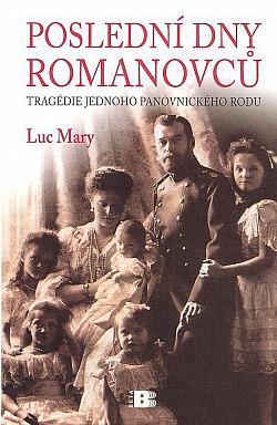 Poslední dny Romanovců obálka knihy
