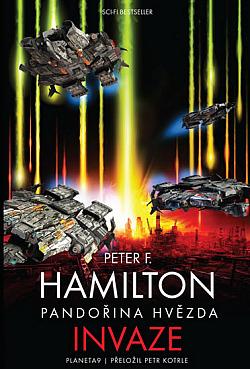 Pandořina hvězda – Invaze obálka knihy