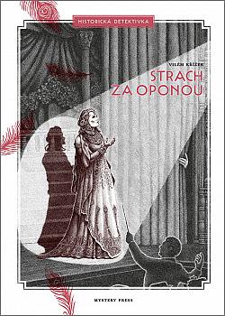 Strach za oponou obálka knihy