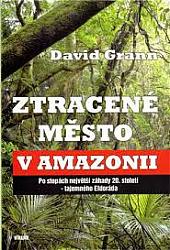Ztracené město v Amazonii obálka knihy