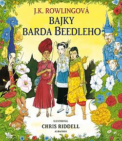 Bajky barda Beedleho (ilustrované vydání) obálka knihy