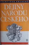 Dějiny národu českého II