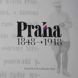 Praha 1848–1918 obálka knihy