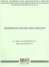 Matematické metody pro statistiky