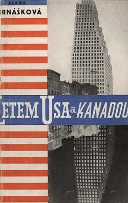 Letem USA a Kanadou obálka knihy