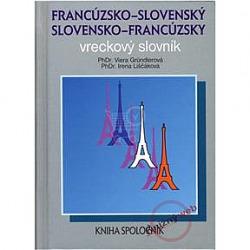 Francúzsko-slovenský a slovensko-francúzsky vreckový slovník obálka knihy