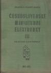 Československé miniaturní elektronky III - televizní elektronky