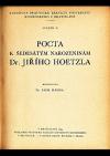 Pocta k šedesátým narozeninám Dr. Jiřího Hoetzla