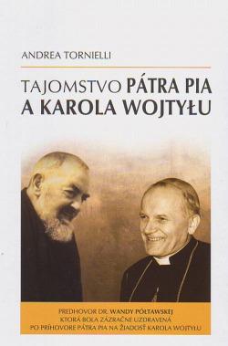 Tajomstvo pátra Pia a Karola Wojtylu obálka knihy