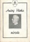 Andrej Hlinka národu