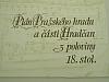 Plán Pražského hradu a části Hradčan z poloviny 18. století