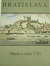 Bratislava - Mapa z roku 1765
