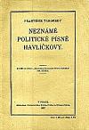 Neznámé politické písně Havlíčkovy