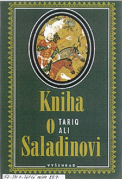 Kniha o Saladinovi obálka knihy