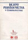Dejiny poisťovníctva v Československu I. a II