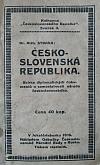 Československá republika - Sbírka diplomatických dokumentů o samostatnosti národa československého
