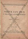 Mistr Jan Hus v pravoslavném pojetí