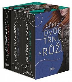 Dvůr trnů a růží 1–3 (box) obálka knihy