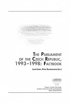 The Parliament of the Czech Republic, 1993 - 1998: Factbook obálka knihy
