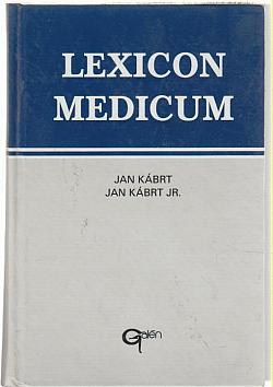 Lexicon medicum obálka knihy