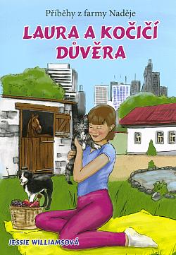 Laura a kočičí důvěra obálka knihy