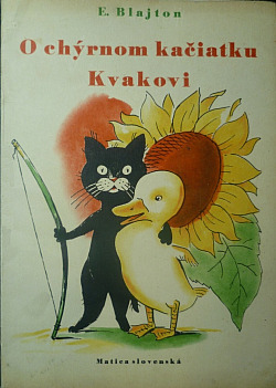 O chýrnom kačiatku Kvakovi obálka knihy