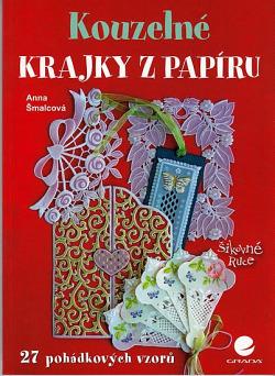 Kouzelné krajky z papíru obálka knihy