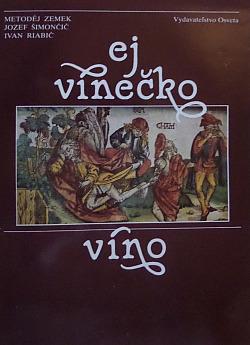 Ej vínečko víno obálka knihy