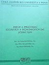 Zdroje a zpracování sociálních a ekonomických dat - Učební texty