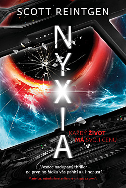 Nyxia obálka knihy